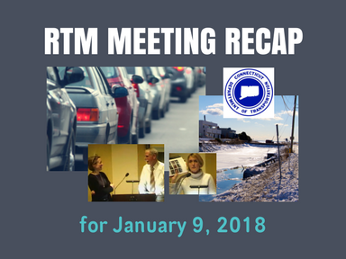 RTM Meeting Recap for January 9, 2018