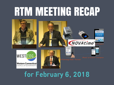 RTM Meeting Recap for February 6, 2018