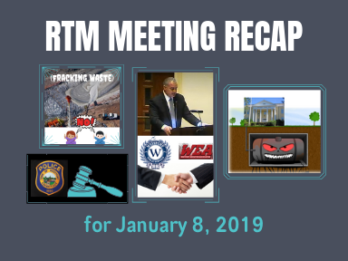 RTM Meeting Recap for January 8, 2019