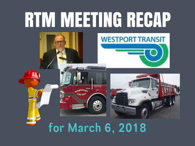 RTM Meeting Recap for March 6, 2018